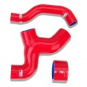 Samco 3-Piece Intercooler Hose Kit - Red
