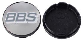 BBS Polished w/ Grey Logo Center Cap - 56mm