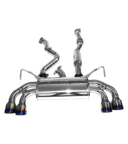 Invidia Q300 Cat-Back Exhaust w/ Titanium Tips