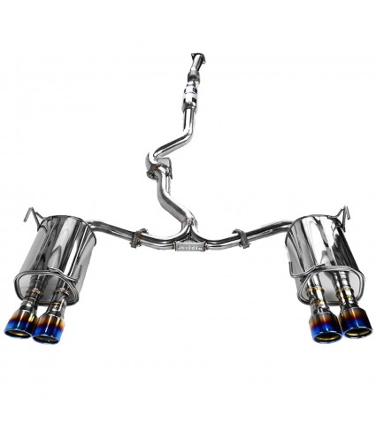 Invidia Q300 Cat-Back Exhaust w/ Titanium Tips