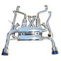 Invidia R400 Gemini Cat-Back Exhaust w/ Rolled Titanium Tips