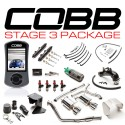 COBB Tuning Stage 3 Power Package (Stealth Black) for Subaru STI