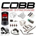 COBB Tuning Stage 3 Titanium Power Package (Stealth Black) for Subaru STI