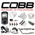COBB Tuning Stage 3 Power Package (Stealth Black) for Subaru STI Hatch