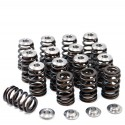 GSC Power-Division Conical Valve Spring Set w/ Titanium Retainers - Mitsubishi 4B11T High Pressure