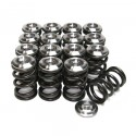 GSC Power-Division Single Cylindrical Valve Spring Kit w/ Titanium Retainers - Toyota 3SGTE Gen3