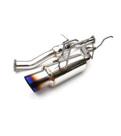 Invidia Racing Single Titanium Tip Cat-Back Exhaust System for Subaru WRX/STI