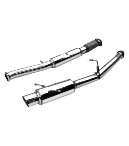 Invidia N1 Cat-Back Exhaust - Single Exit w/ Stainless Steel Tip