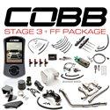 COBB Stage 3+ Flex Fuel Power Package - Titanium - Blue