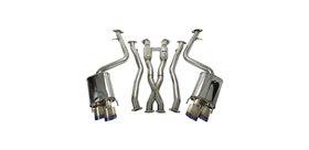 Invidia Q300 Cat-Back Exhaust w/ Rolled Titanium Tips
