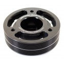 GrimmSpeed Lightweight Crank Pulley - Black