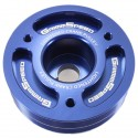 GrimmSpeed Lightweight Crank Pulley - Blue