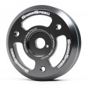 GrimmSpeed Lightweight Crank Pulley - Gunmetal