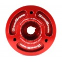 GrimmSpeed Lightweight Crank Pulley - Red
