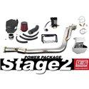 GrimmSpeed Power Package - Stage 2 w/ Black Intake