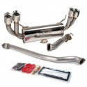 GrimmSpeed Catback Exhaust System w/o Resonator