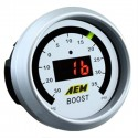 AEM Digital 52mm Boost Gauge - 35psi