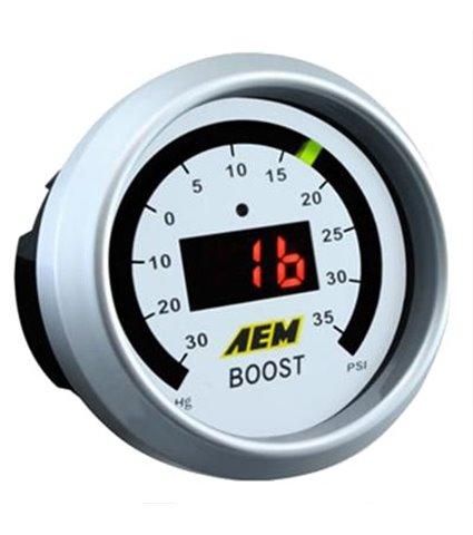 AEM Boost Gauge Digital 52mm