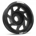 Perrin Lightweight Crank Pulley - Black