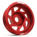 Perrin Lightweight Crank Pulley - Red