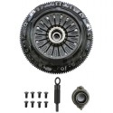 Competition Clutch Stage 1 Multi Plate Twin Organic Clutch Kit w/Flywheel