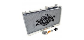 CSF Aluminum Radiator w/ Built-in Oil Cooler and Sandwich Plate