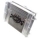 CSF Dual Fluid Oil Cooler w/ 9in SPAL Fan