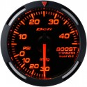 Defi Red Racer Boost Gauge Imperial 52mm 30 PSI Red Needle