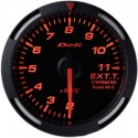 Defi Red Racer EGT Gauge Metric 52mm 200-1100C Red Needle