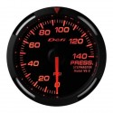 Defi Red Racer Pressure Gauge Imperial 52mm 140 PSI White Needle