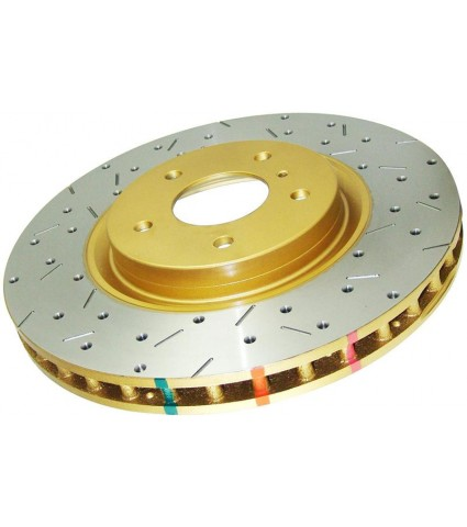 DBA 12+ Subaru/Scion BRZ/FR-S Limited & Premium (US Spec) Front Drilled & Slotted 4000 Series Rotor