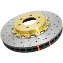 DBA 5000 Series Drilled/Slotted Rotor Single Front