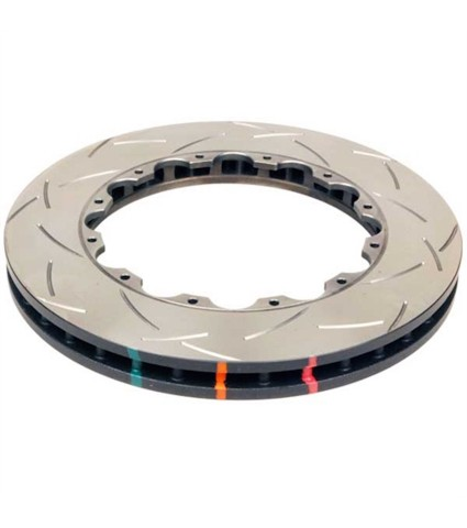 DBA 5000 Series T-Slot T3 Slotted Rotor Ring Single - Front