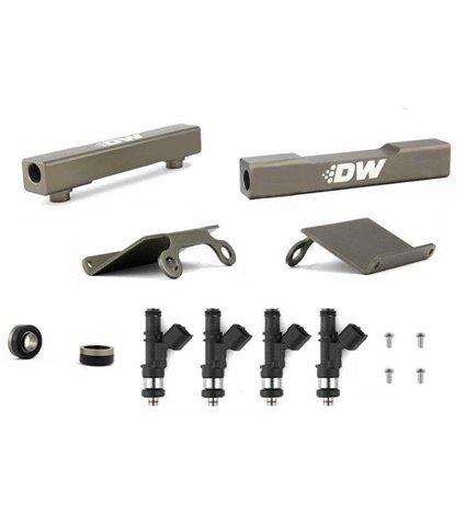 DeatschWerks Fuel Injectors 1000cc w/ Top Feed Fuel Rail Conversion Kit