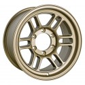 Enkei RPT1 16x8 6x139.7 Zero Offset 108.5mm Bore - Titanium Gold