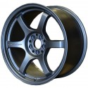 Gram Lights 57DR 18x9.5 +38 5x114.3 Gun Blue 2