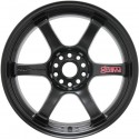 Gram Lights 57DR 18x8.5 +37 5x114.3 Semi Gloss Black
