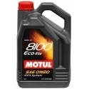 Motul 8100 ECO-lite 0w20 Engine Oil - 5L