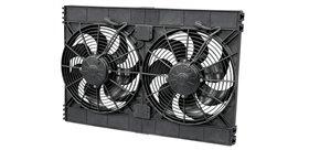 SPAL 12v Dual High-Performance Puller Fans 12in