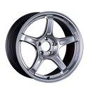 SSR GTX03 18x9.5 5x114.3 38mm Offset - Platinum Silver