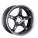 SSR GTX03 19x8.5 5x114.3 38mm Offset - Black Graphite