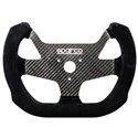 Sparco F10C Steering Wheel - Carbon Suede Black