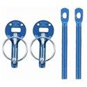 Sparco Hood Pin - Blue