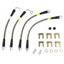 StopTech 05-06 LGT Stainless Steel Rear Brake Lines (4 Line Kit)