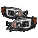 Spyder Projector Headlights - Halogen Black