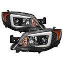 Spyder Projector Headlights - HID Black