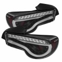 Spyder LED Sequential Signal Tail Lights - Smoked