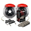 Stoptech ST-40 Big Brake Kit Front 355mm Red Slotted Rotors