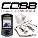 COBB Stage 2 Power Package w/ Resonated Cat-Back