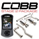 COBB Stage 2 Power Package w/ Non-Resonated J-Pipe - 6MT